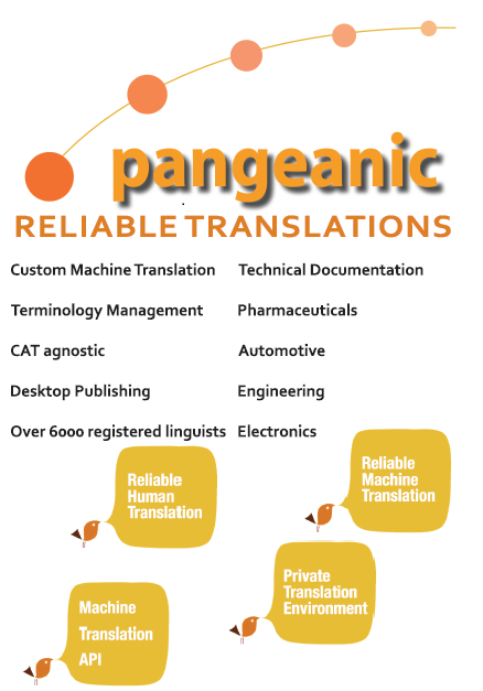pangeanic reliable translation tekom